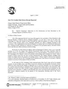 2018-04-11 Slinde Nelson - SHPO letter pg 1