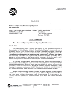 2018-05-29 Slinde Nelson - Cease and Desist letter pg 1